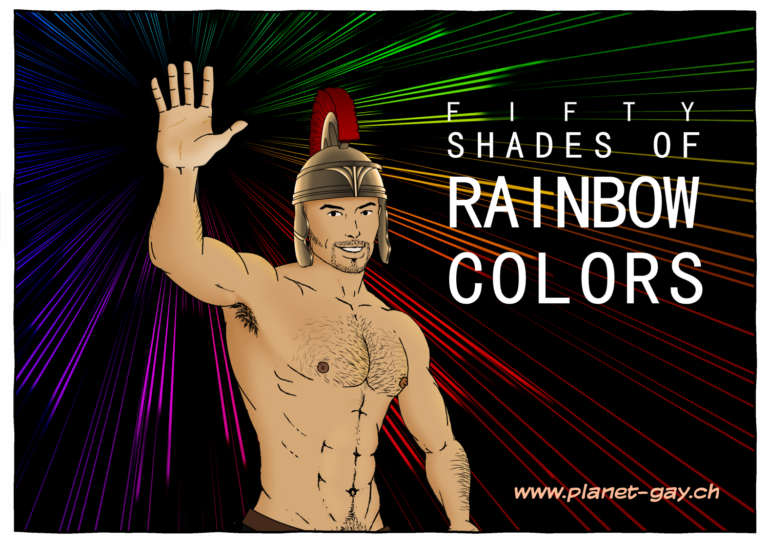 fifty shades of Rainbowcolors